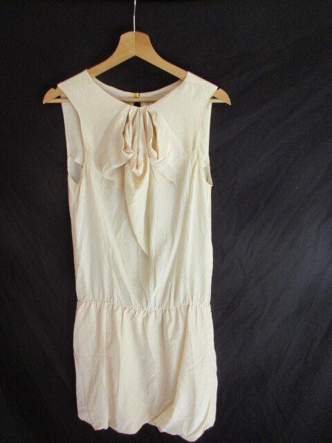 Vestido de seda Maje 1 Efectivo size Amarillento 38 à - 71%