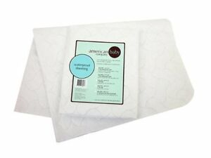 """- NEW - American Baby Company Waterproof Quilted Pad 15""""x33"""" - model:2856"""