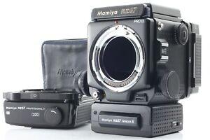 Exc-5-F-S-MAMIYA-RZ67-Pro-II-120-amp-220-Film-Back-Winder-Pro-II-from-Japan