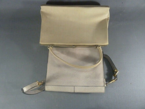 Vintage 2 Set Para Bolsas Piel De Equipaje Almacenamiento Mano OaAq81