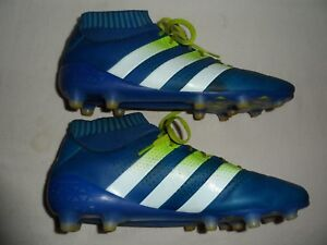 new products 0dfed d8af6 Image is loading Adidas-Ace-16-1-Primeknit-Firm-Ground-Soccer-