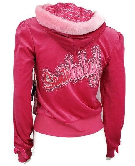 New Victorias Secret Hoodie Womens Small Sexy Little Things Santa Baby Pink