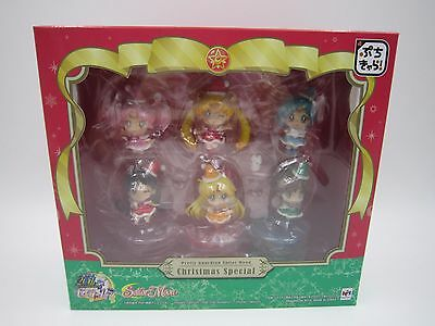 Sailor Moon Petit Chara Christmas Special Figure Limited Set MegaHouse Xmas