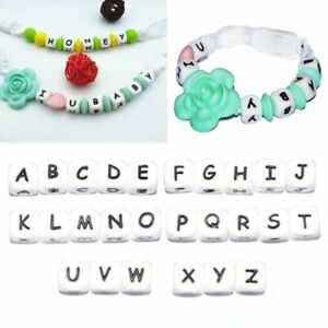 5Pc-Diy-Letter-Safe-Silicone-Teething-Beads-For-Baby-Teether-Pacifier-Chain-12mm