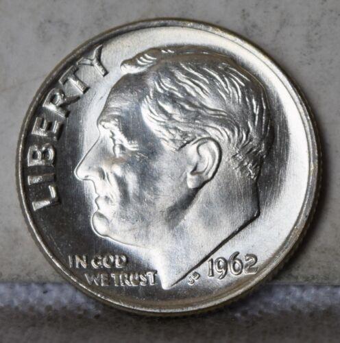 """1962 Roosevelt Dime /""""Gem BU/"""" *Free S//H After 1st Item*"""