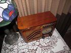 Vintage old wood antique tube radio PHILCO Model 39-7  Such a popular radio !
