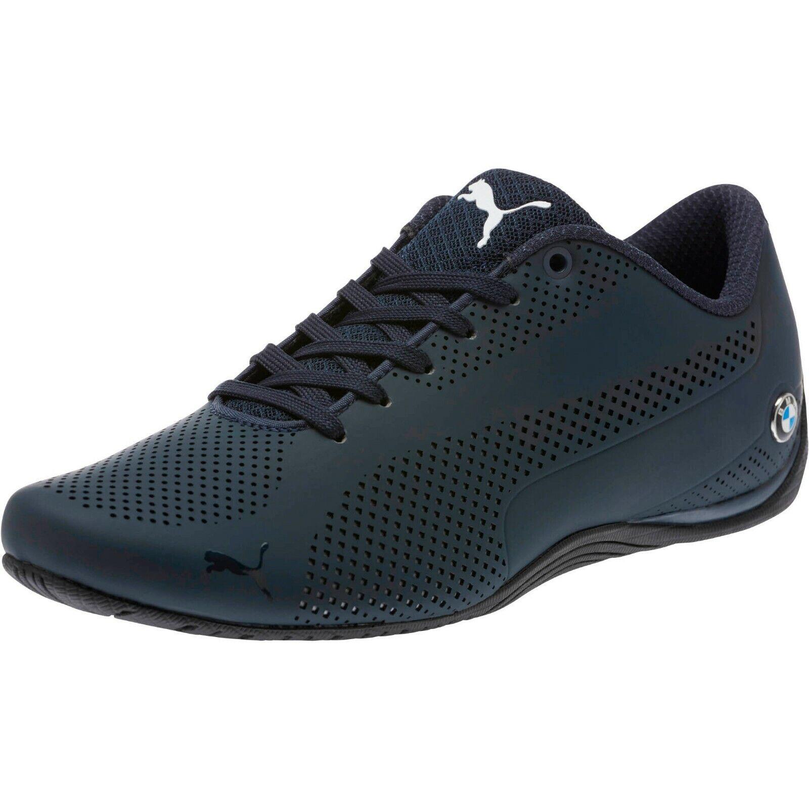New mens Puma Bmw Drift Cat 5 Ultra Motorsport Shoes Blue White Red 305882  01