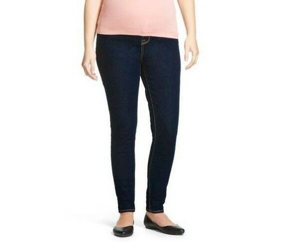 ab928a5105b6d Liz Lange Maternity Target Jeggings Side Panels Under The Belly Denim Size  XXL for sale online | eBay