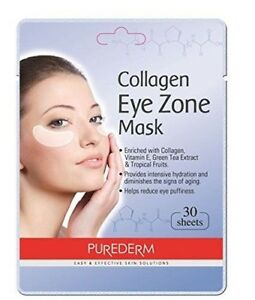 Purederm-Collagen-Eye-Zone-Pad-Patches-Mask-Wrinkle-Care-1Pack-30-Sheets
