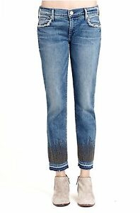 Wf045cbc Kvinders 299 Crop Straight Religion Jeans Cora True Brand RE8w5fOqwx