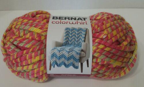 Super Bulky 6 Bernat Colorwhirl Yarn 8.8 oz TUTTI FRUTTI