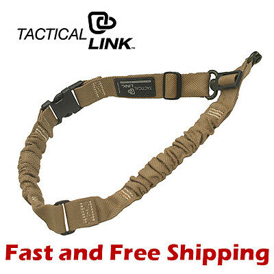 Tactical Link QD 1 Point /& 2 Point Convertible Quick Detach Tactical Sling Black