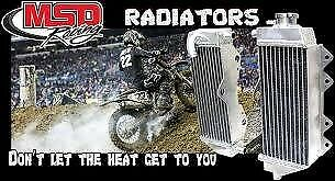 MSD Radiators for ATV and Offroad bikes