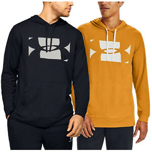 Under Armour Mens Sportstyle Hoodie - Gym Pullover Hooded Top Sports UA