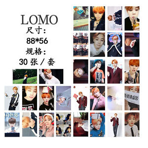 New-30pcs-set-Kpop-JIMIN-Personal-Lomo-Card-Photo-Picture-Poster