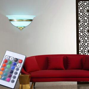 RGB LED LAMPADA PARETE DIMMERABILE soggiorno camera da letto notte ...