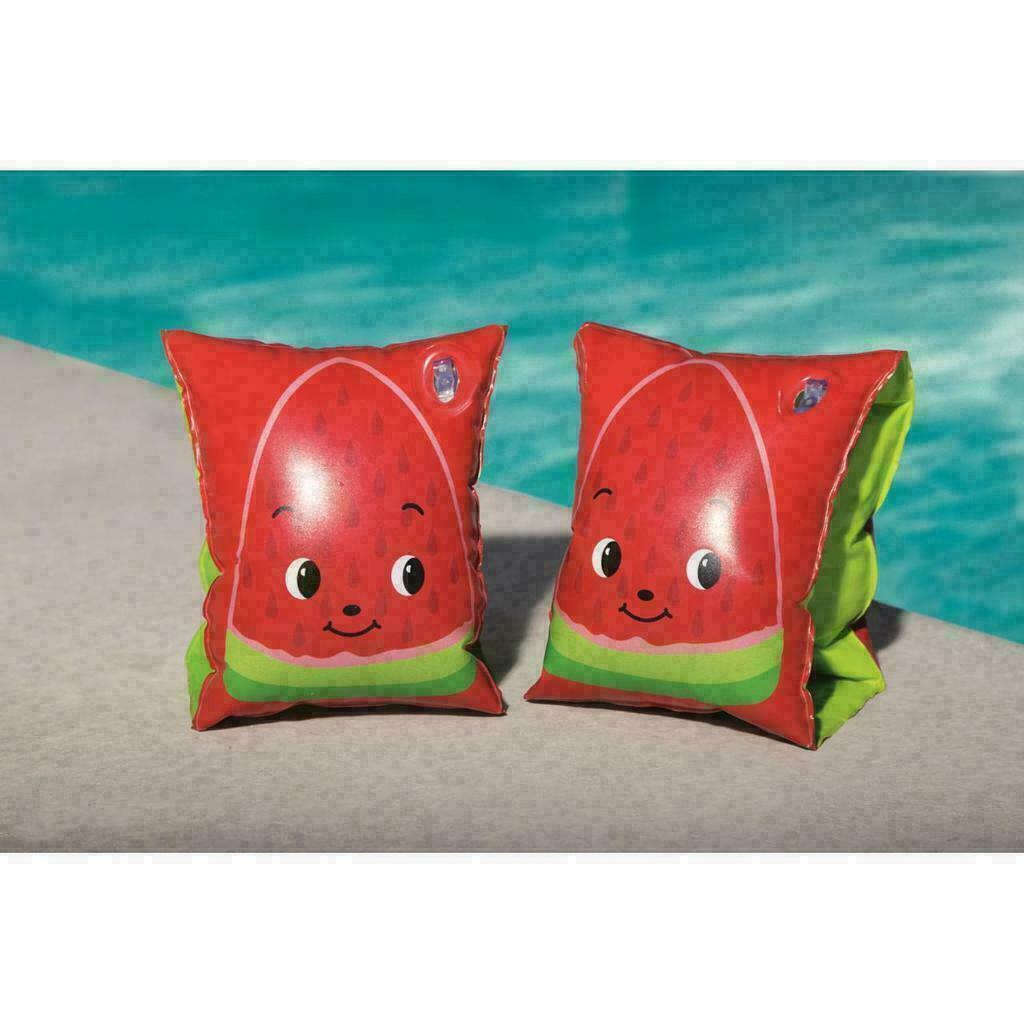 Bestway H20 Go Fruitastic Armbands Watermelon 9 Inch