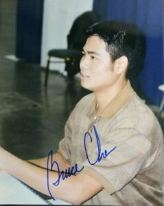Bruce Chen Braves Phillies Mets Orioles Autographed Signed 8x10 Photo