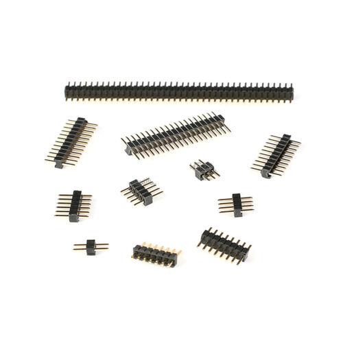 1.27mm Pitch Männlich Buchsen Stiftleisten 40Pin Single Row PCB Connector Header