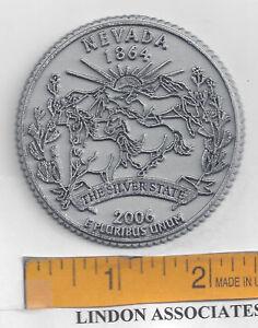 Arizona State Quarter Fridge Magnet