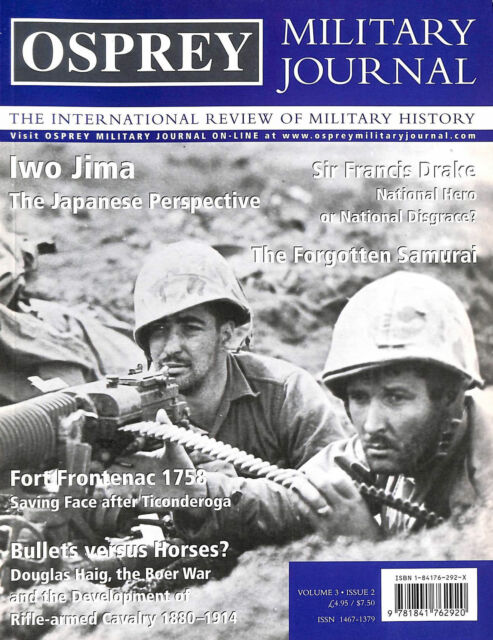 Osprey Military Journal: Issue 2: Volume 3 by Cowper, Marcus [Editor]