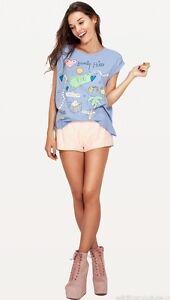 36 Edge Wildfox Jagged Love Tshirt 8 Top Tee Couture Xs Tai Hills Beverly 4 I UUqCZ6Y