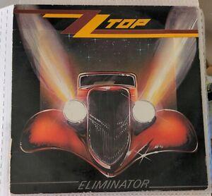 ZZ TOP Eliminator LP Original 1983 Warner Bros Jacksonville Pressing 9 23774-1
