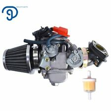 Podoy 150cc Carburetor GY6 26mm Carb with Air Filter Intake Manifold Fuel Fil...