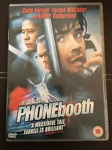 Phone Booth DVD with Kiefer Sutherland Colin Farrell and Forest Whitaker - Bridgwater, Somerset, United Kingdom - Phone Booth DVD with Kiefer Sutherland Colin Farrell and Forest Whitaker - Bridgwater, Somerset, United Kingdom