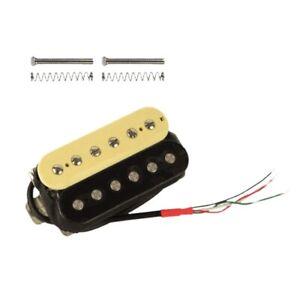 Electric-Guitar-Humbucker-Pickups-Neck-Alnico-V-Pickup-Zebra-black-H4U9-GN8