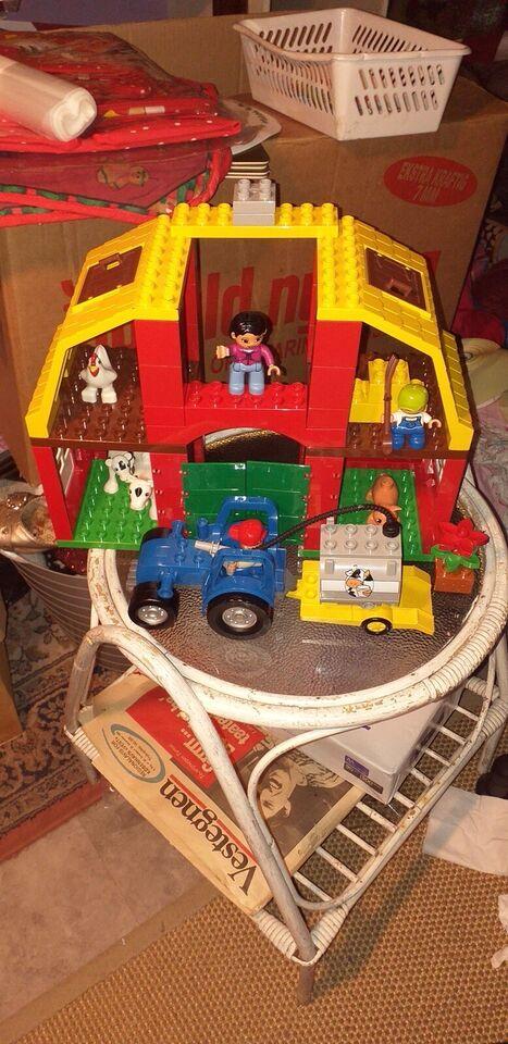Lego Duplo, 5649 Stor bondegård + 5644 HØNSEGÅRD
