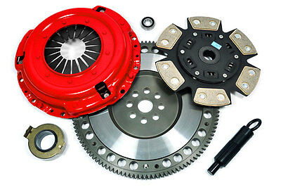 KUPP 6-PUCK CLUTCH KIT & 14.5 LBS RACE FLYWHEEL 1995-1999 BMW M3 Z3 E36 S50 S52