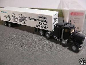 30 527 Peterbilt Containersattelzug ICI Lack Truck OVP #2653 Wiking 1//87 Nr