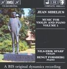 Bengt Forsberg - Sibelius Music for Violin and Piano Vol. 1