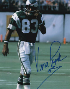 7815d6675b4 Image is loading Vince-Papale-83-WR-Philadelphia-Eagles-Football-SIGNED-