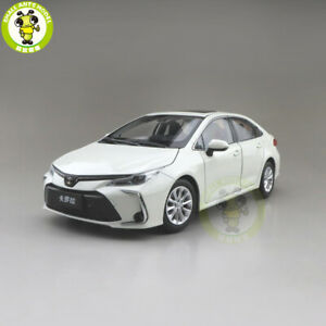 White Toyota Corolla >> Details About 1 18 All New Toyota Corolla 2019 Diecast Car Model Toys Boys Girls Gifts White
