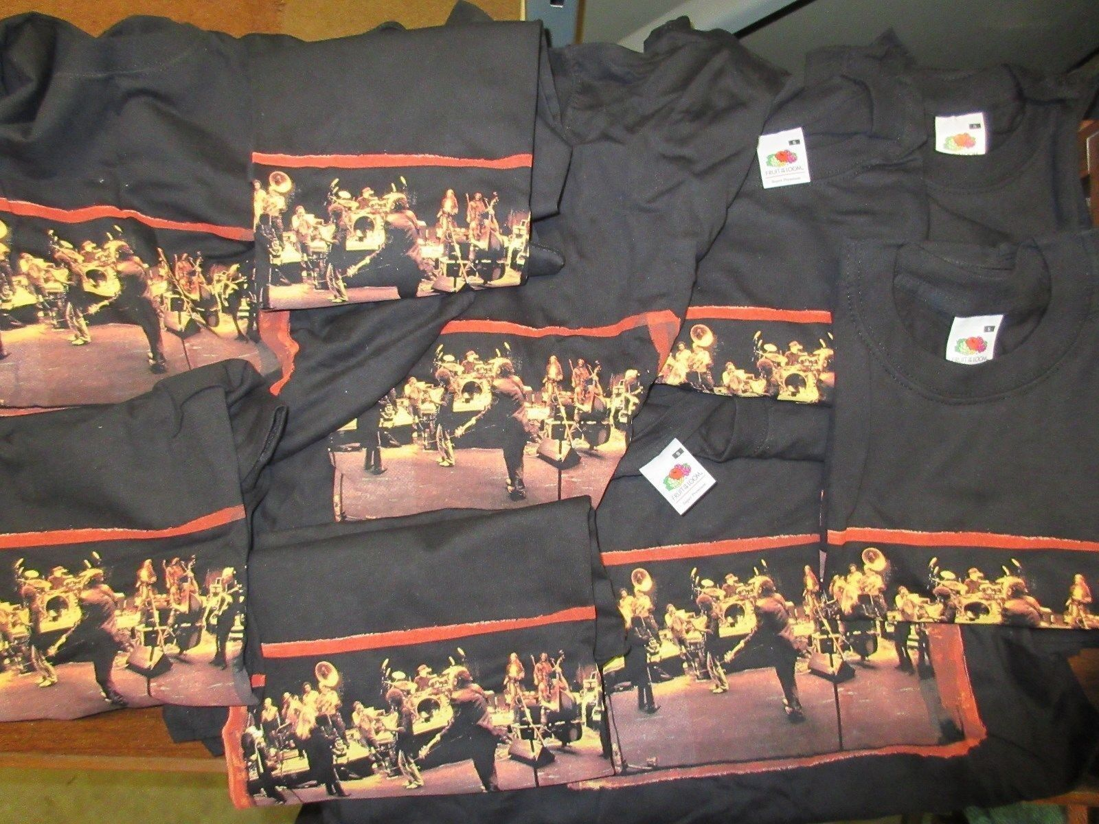 NEW - 50X WHOLESALE LOT OF BRUCE SPRINGSTEEN BAND CONCERT MUSIC T-SHIRT SMALL