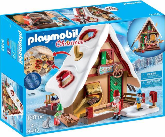 Playmobil Christmas 9493. Panadería Navideña. Más de 4 años. 128 piezas