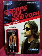 Escape From New York ReAction Figure - 3.3/4in Snake Plissken & Gun Funko