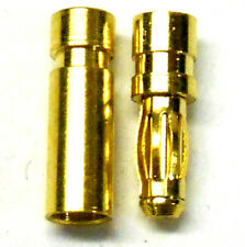 1Set Male Female RC EC5 Banana  Connector 5.0mm Gold Bullet PlugWRR SE