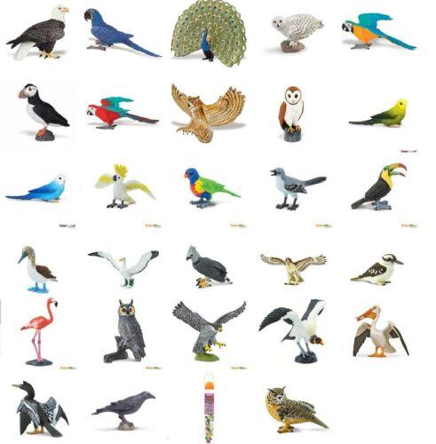 Safari Flügel der Erde  Vögel Papageien  Spielfiguren Tierfiguren Figur  Auswahl