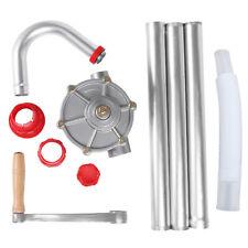 25mm Hand Crank Aluminum Rotary Gas Oil Fuel Hand Pump Self Priming Dispenser U9