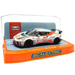 Scalextric C4183 Lotus Evora - Gulf Edition 1/32 Slot Car