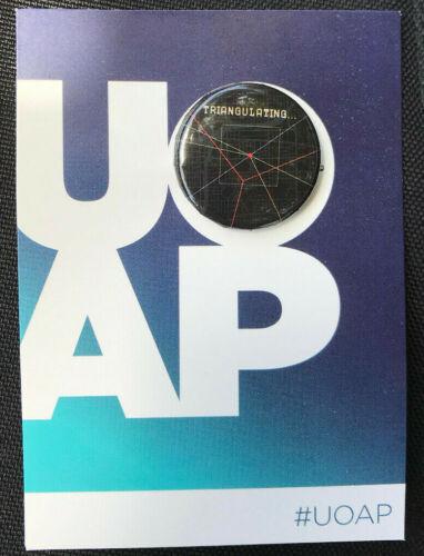 BOURNE triangulating Universal Studios FL Passholder Button Pin July 2020