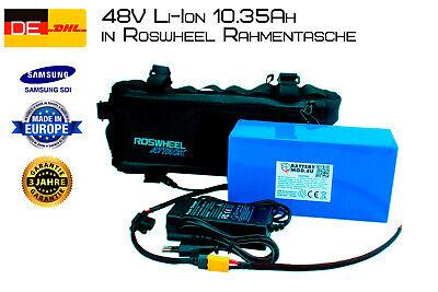E-bike Battery 48V 10.35AH Samsung SDI INR18650-35E Pedelec Li-ion Battery Frame