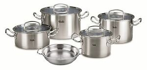 Fissler-Topfset-orig-profi-collection-5-tlg-Glasdeckel-Servierpfanne-Induktion