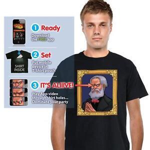 Digital-Dudz-Verwunschenes-Haus-Portrait-T-Shirt-verschiedene-Groessen-Auswahl