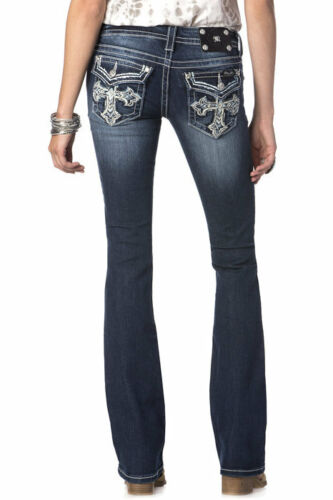 Cut Boot Jp5452b4 Smudged Sz Cross Jeans NWT 26 Miss mig W8ITXTq