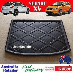 Subaru Xv 3d Boot Liner Cargo Mat Tray Rear Trunk Floor