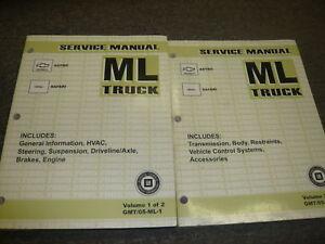 2005-GMC-Safari-Furgoneta-amp-Astro-ML-Modelo-Servicio-Tienda-Reparar-Manual-Juego